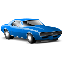 Image of a muscle car